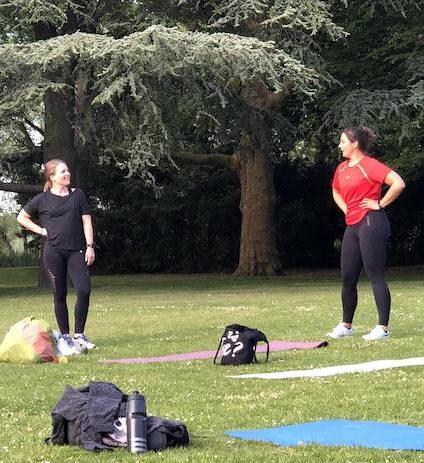 Duo Personal Training Outdoor Rotterdam